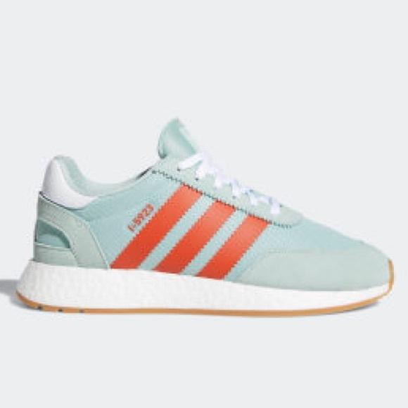 NO OFFERS Adidas Originals I-5923 Green Amber 11.5